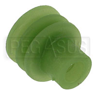 Weather Pack Terminal Seal for 2.03 to 2.80mm Wire (Green)