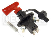 Master Battery Cutoff Switch with Alternator Protection
