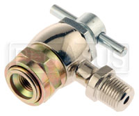 Schrader High Pressure Coupler, 1/8 NPT Male