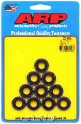 "ARP 3/8"" ID x 7/8"" OD (Radiused) Black Washers, 10-pack"