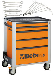 Two Free Beta Tool Sets ($322 value) with the C24S/5 Tool Cabinet