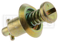 Camloc 2600 Series Light Duty Stud, Protruding Head, Slotted