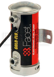 Facet Cylindrical Style 24 Volt Fuel Pump, 4 to 5 max psi