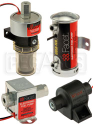 Facet Solid State Electric Fuel Pumps
