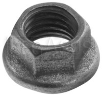 MS21042 Original Style Jetnut, Moly Coated All Metal Locknut