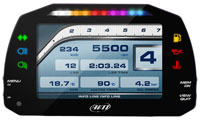 AiM MXS Strada Icons High Performance Digital Street Dash