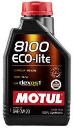 Motul 8100 ECO-LITE Synthetic Engine Oil