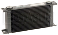 Setrab Series 6 Oil Cooler, 19 Row, M22 Ports