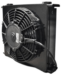 Setrab Fanpack: Series 6 Cooler, 34 Row, with 12 v Fan