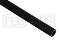 Black Silicone Hose, Straight, 3/4 inch ID, 1 Meter Length
