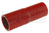 Red Silicone Hose, 1 1/2 x 1 3/8 inch Straight Reducer