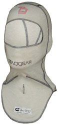 TraqGear Comfort Series SS Balaclava, Double Faced, SFI