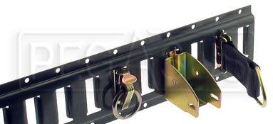 E-Track Modular Tie-Down Rails & Anchor Fittings Product Group