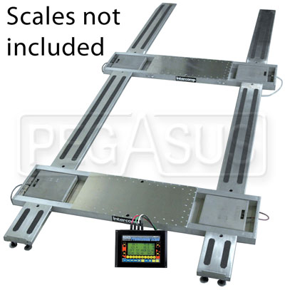 Large photo of Intercomp 4000 lb Setup Rack, fits 15x2.5 Scale Pads, Pegasus Part No. 102024