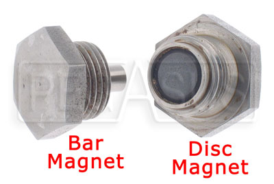 Large photo of Magnetic Plug, Cap Screw Type  3/4-16, Pegasus Part No. 1022