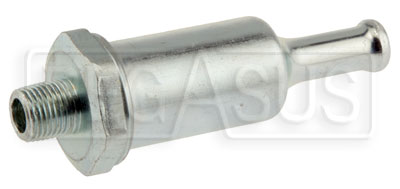 Large photo of Fuel Filter, 1/8 NPT to 5/16 Hose, 74 Micron, Pegasus Part No. 1120