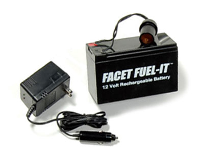 Large photo of (B) 12-volt 7.2AH Battery for Fuel-It or Lap Time Beacon, Pegasus Part No. 1124-002