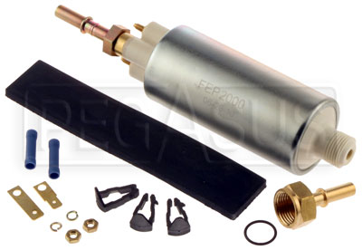 Large photo of High Pressure In-line Fuel Pump, 70-95 psi, Pegasus Part No. 1124-005
