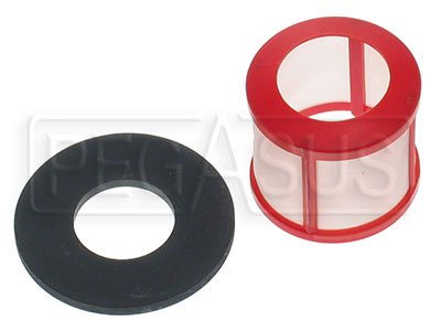 Large photo of 400 Micron Filter w/Gasket for Facet Cylindrical Pump, Pegasus Part No. 1132