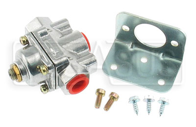 Large photo of Holley Fuel Pressure Regulator, 4 to 9 psi Adjustable, Pegasus Part No. 1136-PSI
