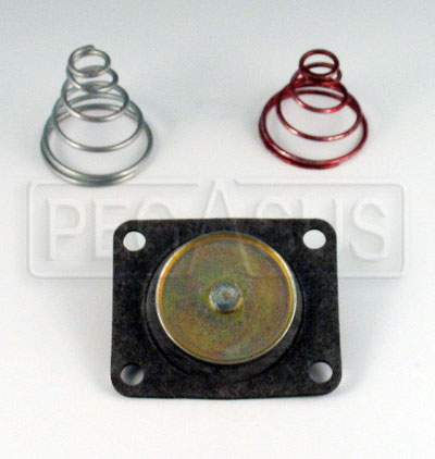 Large photo of Diaphragm Repair Kit for Holley Fuel Pressure Regulator, Pegasus Part No. 1137