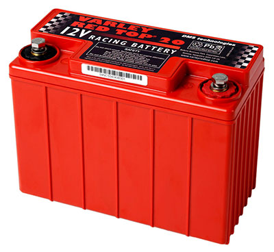 Large photo of (B) Varley Red Top 20 Battery, 13AH, Pegasus Part No. 1177-002