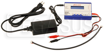 Large photo of Ballistic Performance Battery Charger, US Plug, Pegasus Part No. 1178-250