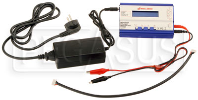Large photo of Ballistic Performance Battery Charger, Euro Plug, Pegasus Part No. 1178-251