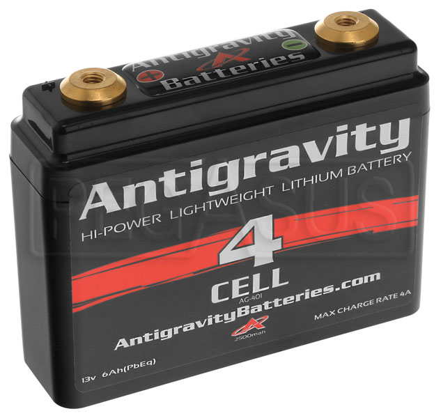li antigravity 12v lithium small case battery 4 cell pegasus auto racing supplies. Black Bedroom Furniture Sets. Home Design Ideas
