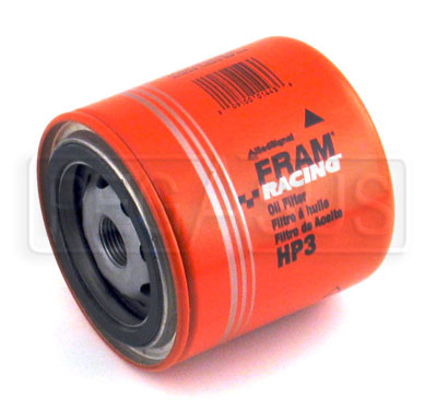 Large photo of Fram HP-3 High-Performance Oil Filter, 3/4-16 Thread, Short, Pegasus Part No. 1203