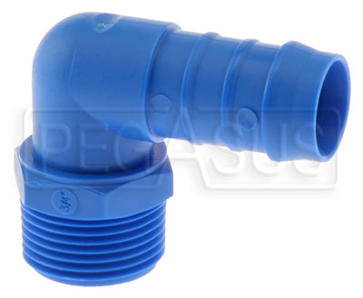 Large photo of Replacement Vent Fitting for Easy Clean Oil Tank, 3/4 Hose, Pegasus Part No. 1256-205