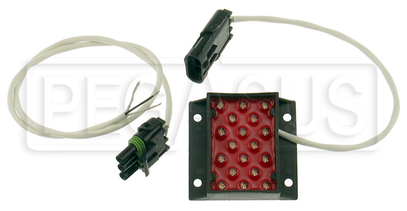 Large photo of Afterburner FIA Rain/Brake Light, Weather Pack Connector, Pegasus Part No. 1315-001