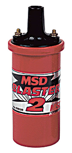 Large photo of MSD Blaster II Ignition Coil, Pegasus Part No. 1328