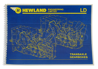 Large photo of Hewland Gearbox Manual for LD200 4- & 5-Speed, Pegasus Part No. 1406