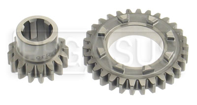 Large photo of LD200 High Strength Webster Gear Set (1st Gear), Pegasus Part No. 1420-Ratio