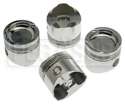 Large photo of Formula Ford 1600 Forged Piston Set, .005