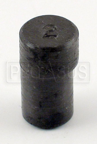 Large photo of 2 degree Offset Cam/Sprocket Dowel, Pegasus Part No. 161-40-2