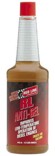 Large photo of Red Line RL Anti-Gel Diesel Fuel Additive, Pegasus Part No. 1676-Quantity