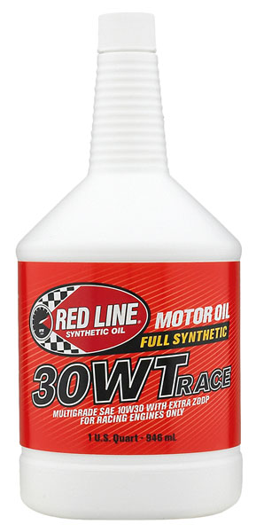 Large photo of Red Line SAE Racing Oil, Pegasus Part No. 1692-Viscosity-Quantity