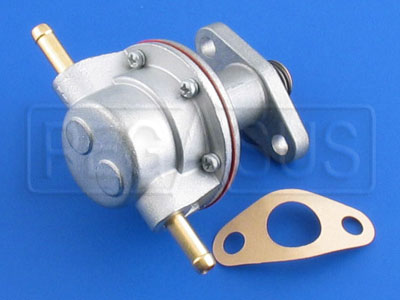 Large photo of 2.0L Mechanical Fuel Pump with Adjustable Push-On Fittings, Pegasus Part No. 171-79