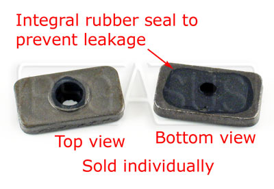 Large photo of 2.0L Valve Cover Rectangular Seal Plate, Pegasus Part No. 172-44