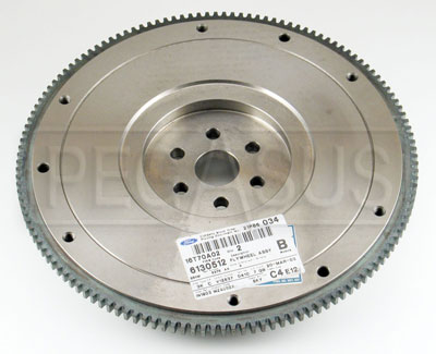 Large photo of 2.0L Flywheel with 132 Tooth Ring Gear, Stock, Pegasus Part No. 173-01-STK