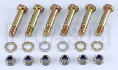 Large photo of Tilton Clutch Bolt Kit, 1-Disc, Step Flywheel, Through Holes, Pegasus Part No. 173-19-OT2