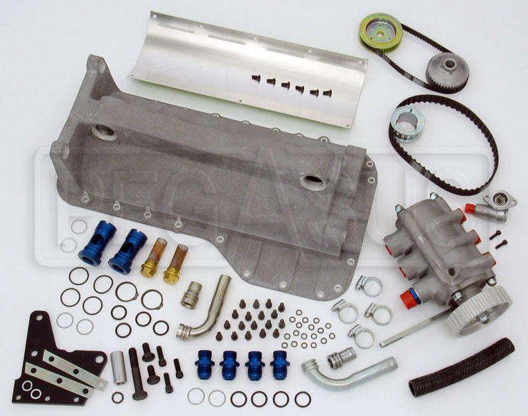Large photo of 2.0L Titan Standard Dry Sump Kit, Cast Pan (1985+ Block), Pegasus Part No. 177-02-CAST