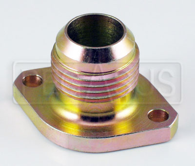 Large photo of Series 2 Pressure Inlet Fitting, 10AN Straight, Pegasus Part No. 177-14-1000