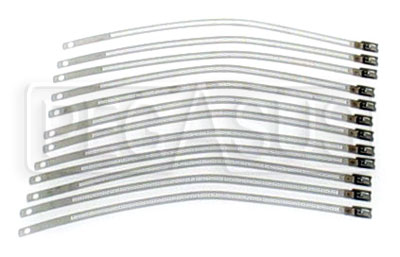 Large photo of Stainless Steel Band Clamp Kit, Qty 12 of 9 inch Straps, Pegasus Part No. 1835-003