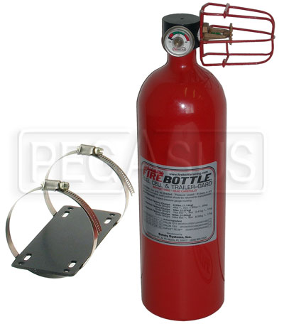 Large photo of (H) FireBottle Trailer Guard Fire System, Pegasus Part No. 2008-Size