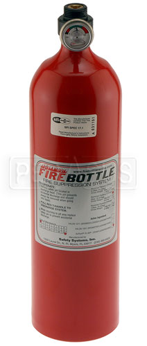 Large photo of (H) FireBottle 5 lb. FE-36 Spare Bottle, Manual, Pegasus Part No. 2035-006