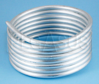 Large photo of Aluminum Tubing 1/4in O.D. - 8 foot coil, Pegasus Part No. 2078-Size