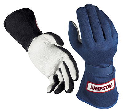 Large photo of Simpson Sportsman Grip Gloves, SFI Approved, Pegasus Part No. 2109-Size-Color